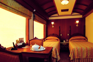 tea time in maharajas' express