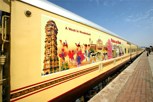weekend tour of palace on wheels